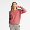 Rasberry Knitted Sweater