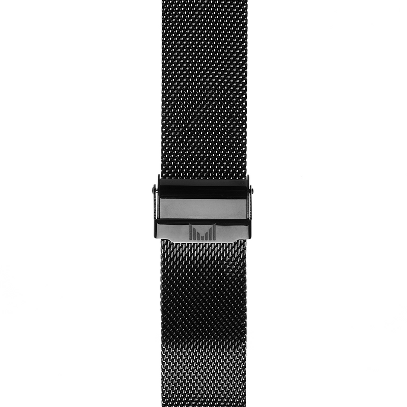 Milanese Black Strap 22mm