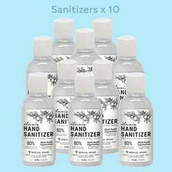Muse Health 10 Medical grade sanitizers combo