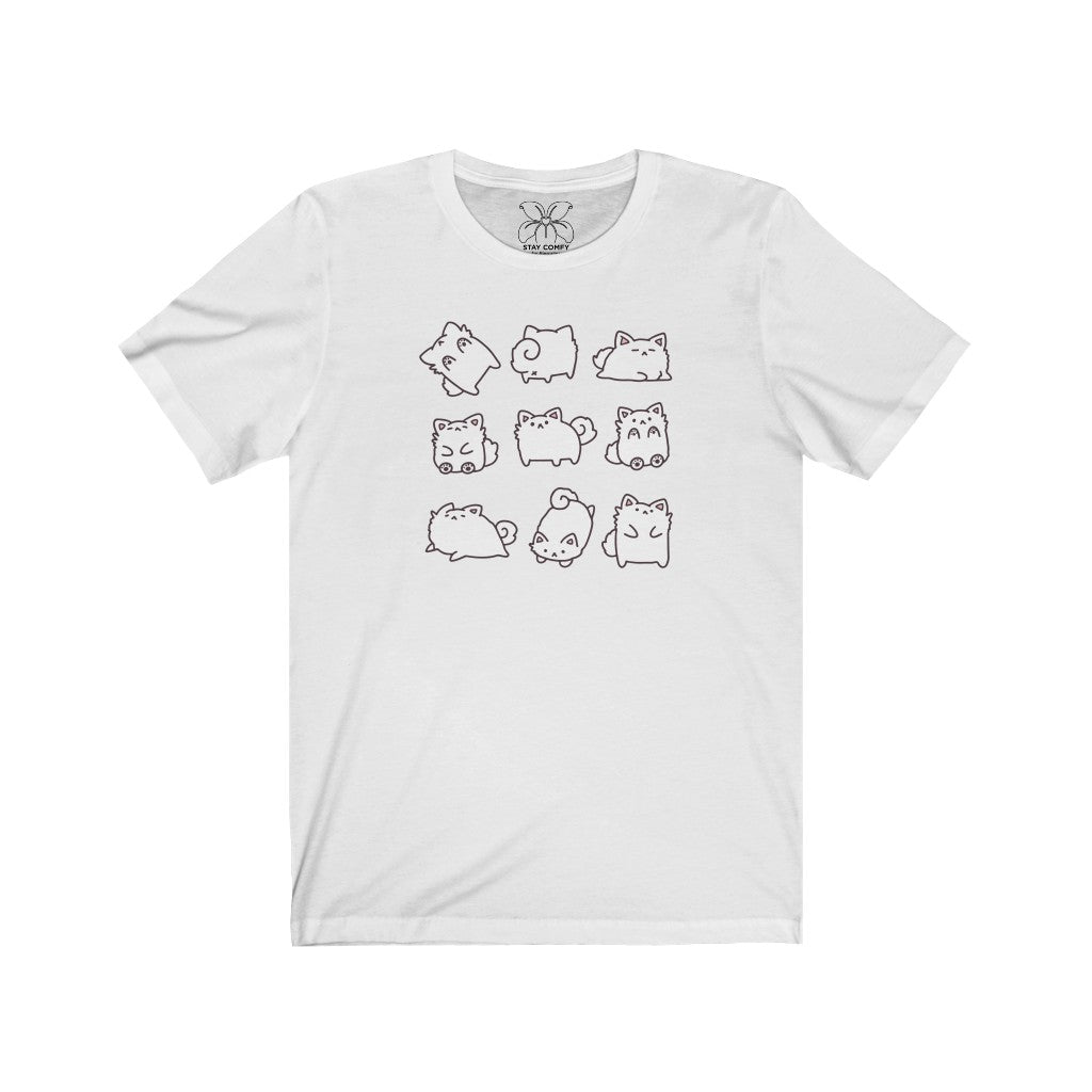 Temmies - Short Sleeve T-Shirt - LilyPichu Store