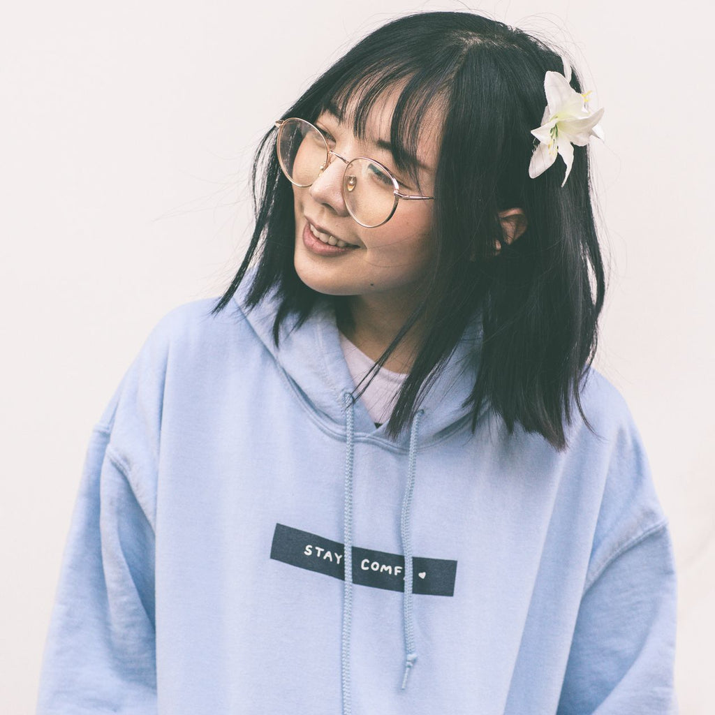 Stay Comfy Hoodie - Classic (Unisex) - PREORDER - LilyPichu Store