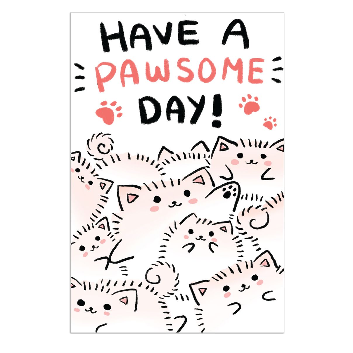 Temmie Poster - Pawsome Day - LilyPichu Store