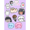 Lily Sticker Set (Pack of 3) - LilyPichu Store