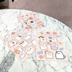 Temmie Sticker Set (Pack of 3) - LilyPichu Store