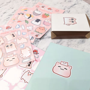 Stay Comfy Sticker Set (Pack of 3) - LilyPichu Store