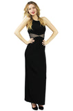 Bombshell Black Evening Dress