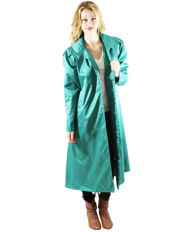 Emerald Green Trench Coat