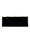 Velvet Vintage Triangle Clutch