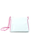 60's White and Pink Purse