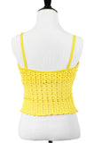 Canary Yellow Cropped Top