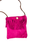 Suede Fringe Purse