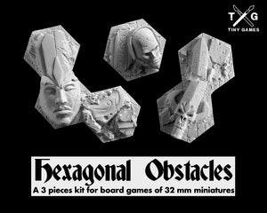 Hexagonal Obstacles