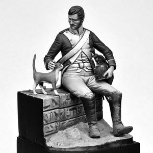 French Dragoon, 18Reg. Egypt 1798, Battle of the Pyramids
