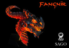 Load image into Gallery viewer, Fangnïr. Dragon Bust