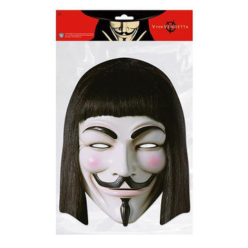 V for Vendetta Card Mask
