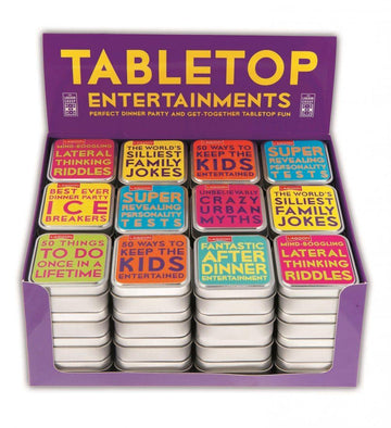 Tabletop Trivia & Entertainment