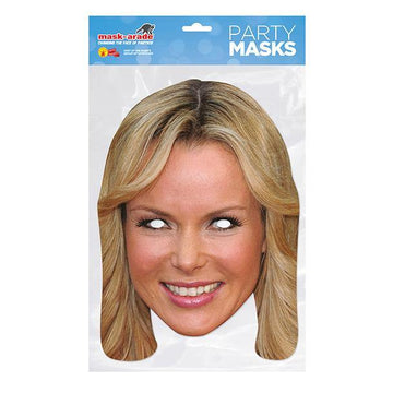 Amanda Holden Card Mask