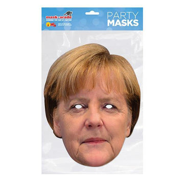 Angela Merkel Card Mask