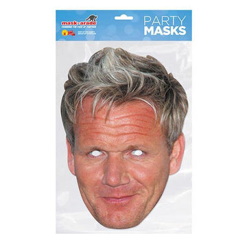 Gordon Ramsay Card Mask