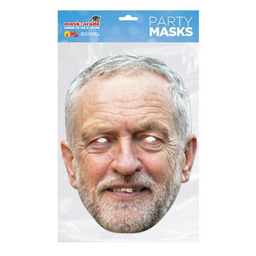 Jeremy Corbyn Card Mask