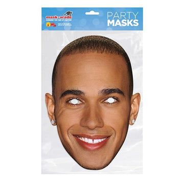 Lewis Hamilton Card Mask