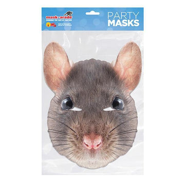 Rat Animal Card Mask