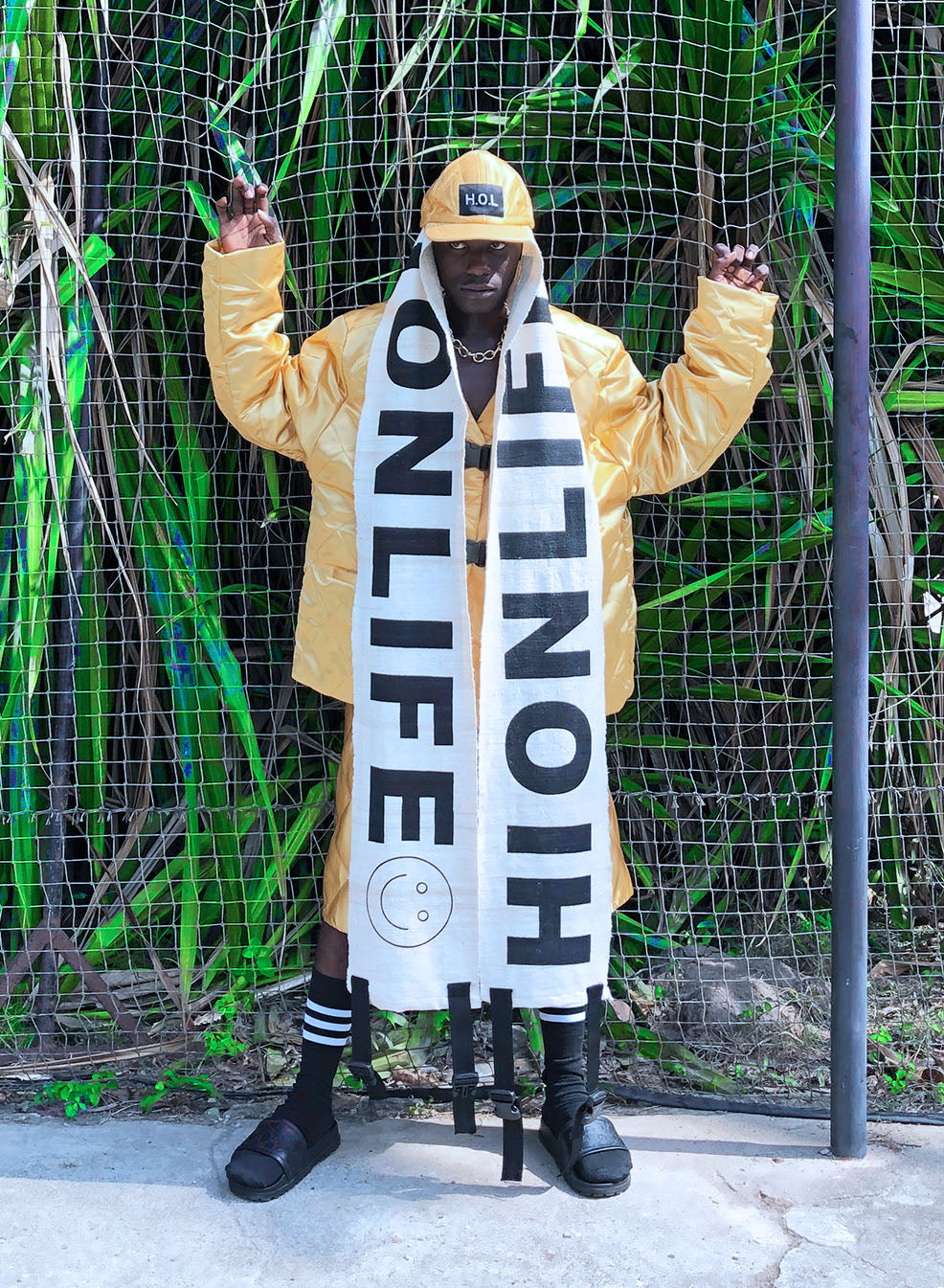 H.O.L 2.0.8_13 GOLDEN WORKER JACKET