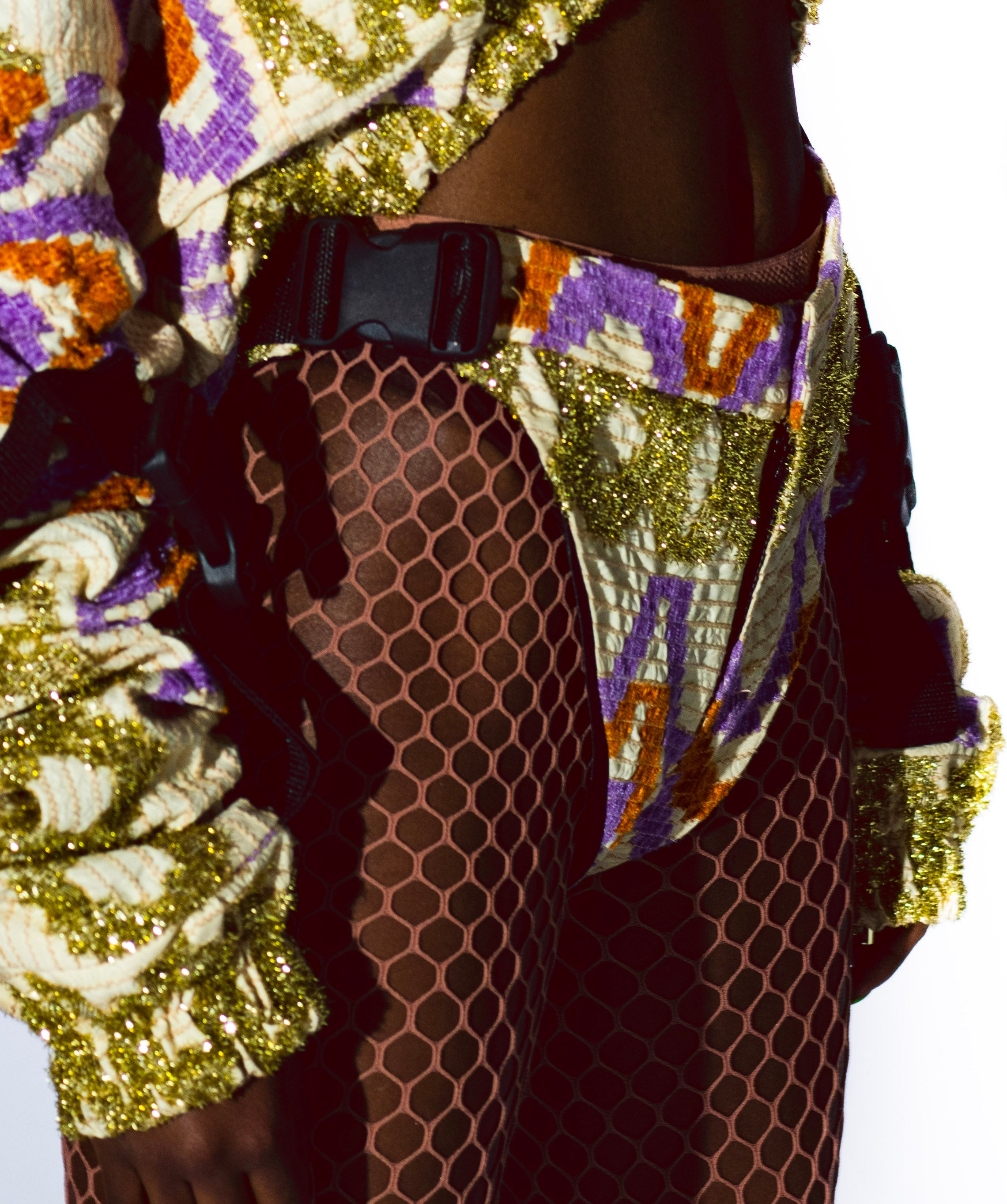H.O.L 2.0.8_3 BO$$ BLING BIKINI PURPLE/GOLD