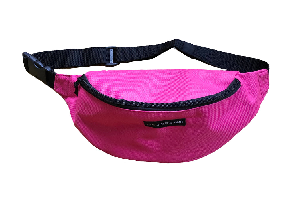 HOL X STRNG WMN PINK BELT BAG