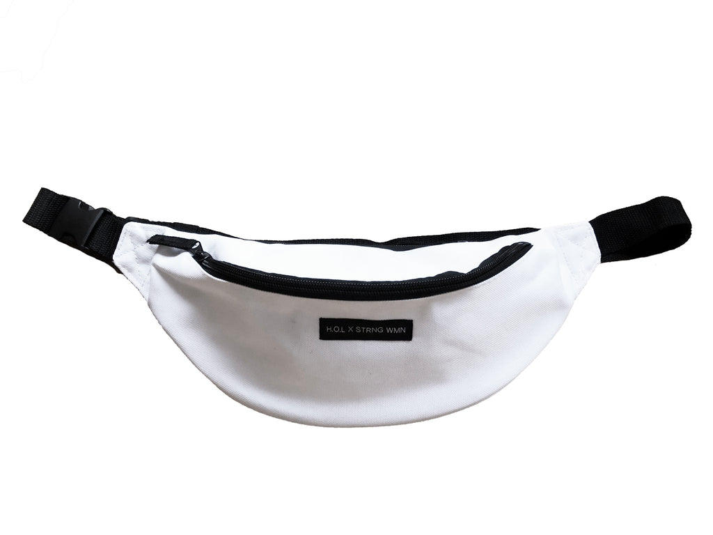 HOL X STRNG WMN WHITE BELT BAG