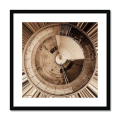 Image titled - Tank - by Mark Wessel. Framed and mounted with black wood frame.
