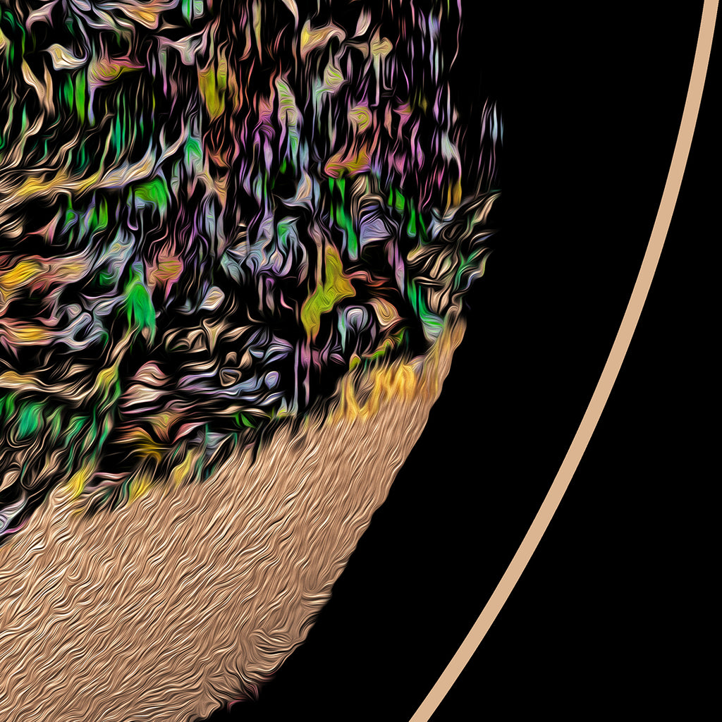 Close up of part of the image titled - Tree of Life.