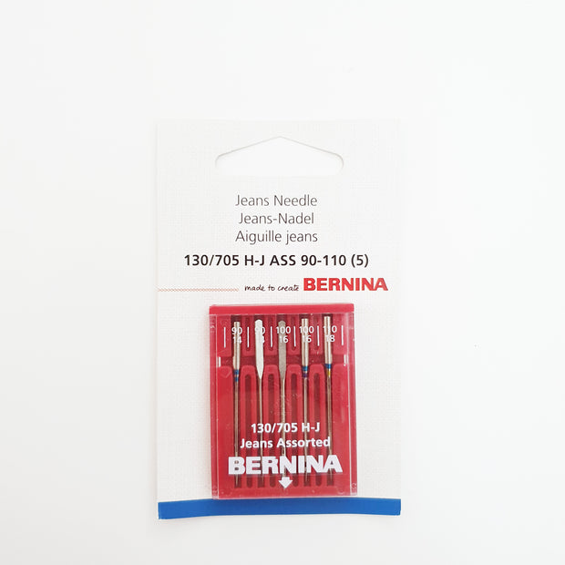 BERNINA Jeans Needle Assorted H-J 90-110 (5) - BERNINA Singapore