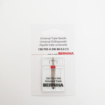 BERNINA Universal Triple Needle 130/705 H DRI 80/3,0 - BERNINA Singapore
