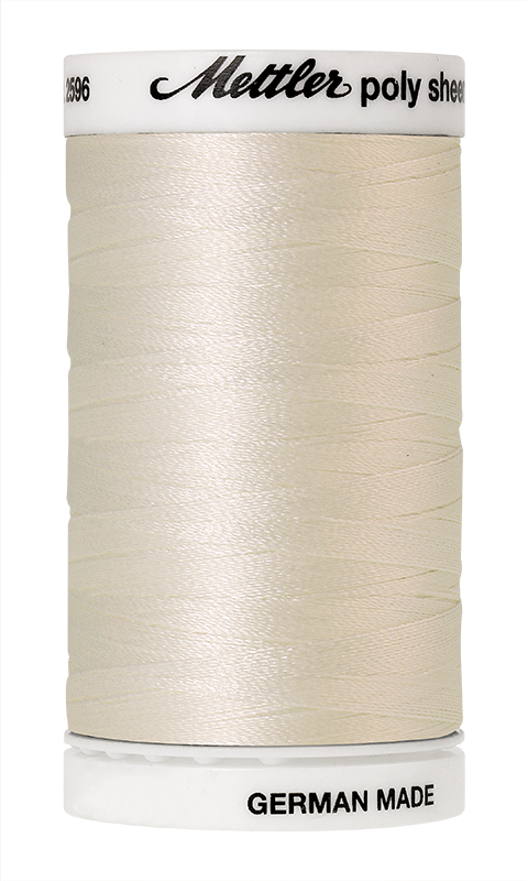 Mettler Poly Sheen Eggshell Thread
