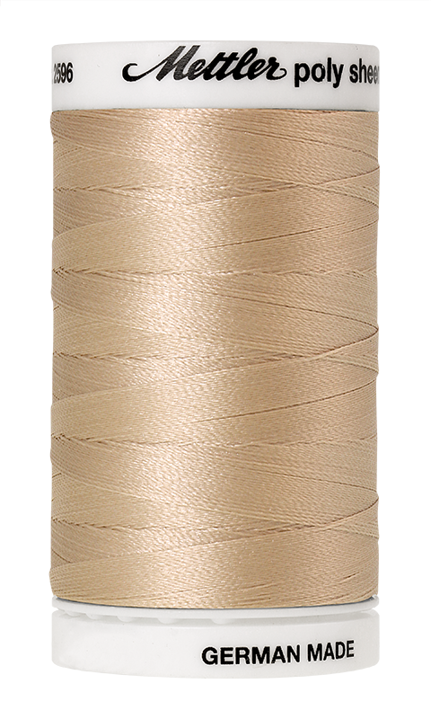 Mettler Poly Sheen Oat Thread