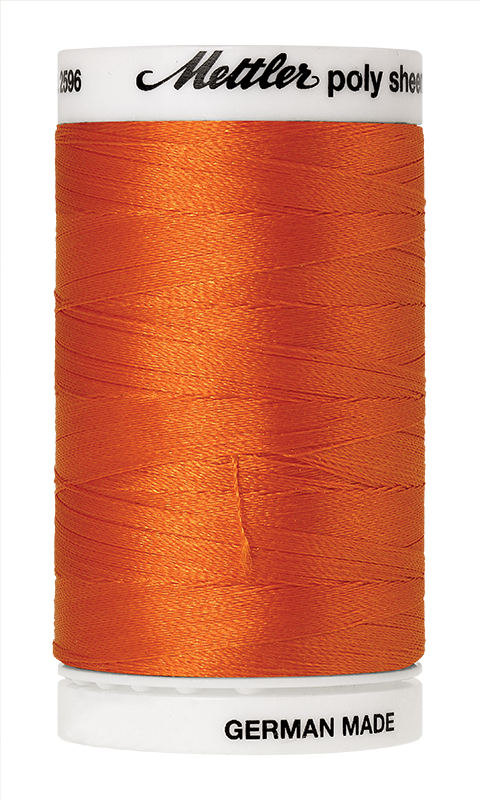 Mettler Poly Sheen Pumpkin Thread