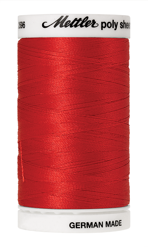 Mettler Poly Sheen Poppy Thread