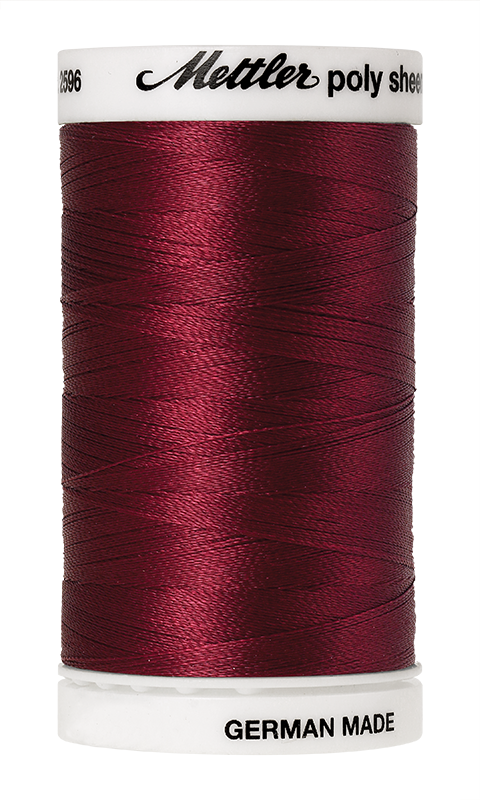Mettler Poly Sheen Winterberry Thread