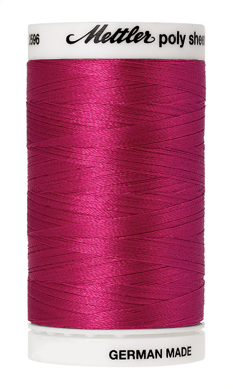 Mettler Poly Sheen Bright Ruby Thread