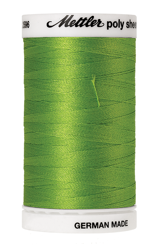 Mettler Poly Sheen Erin Green Thread