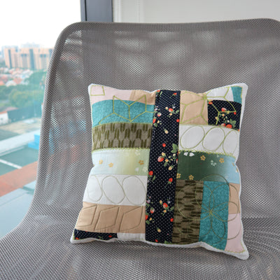 Patch & Quilt your Pillow case