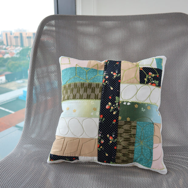 Patch & Quilt your Pillow case - BERNINA Singapore
