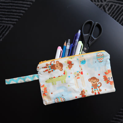 June Holidays Children Workshop: Make a Zipper Pouch