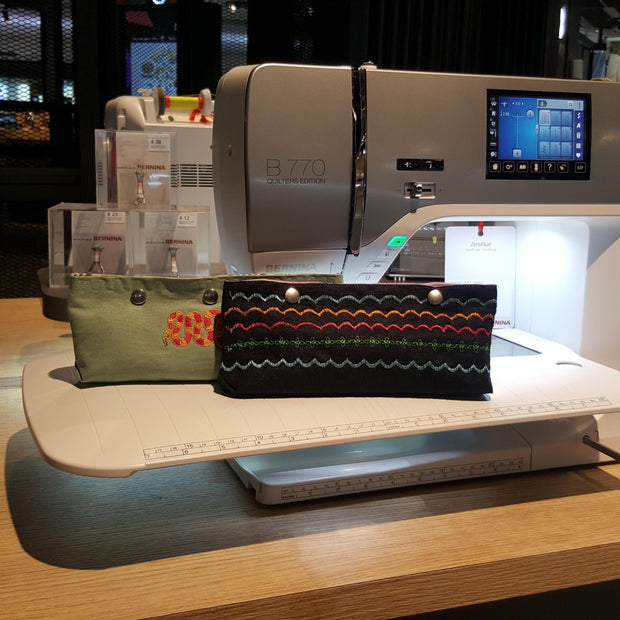 Pencil Case Workshop - BERNINA Singapore