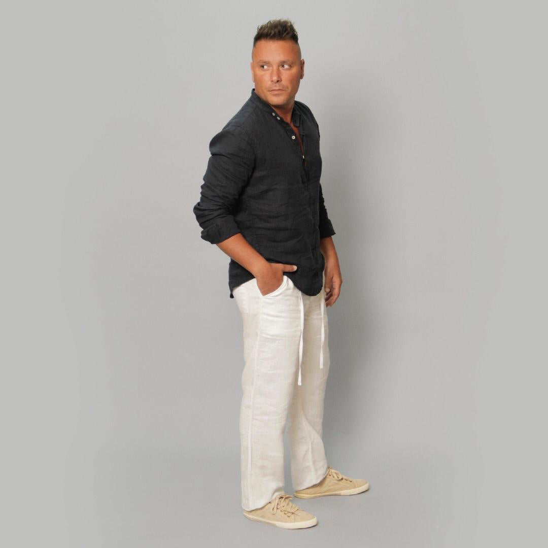 The Linen Shirt - Claudio Milano couture