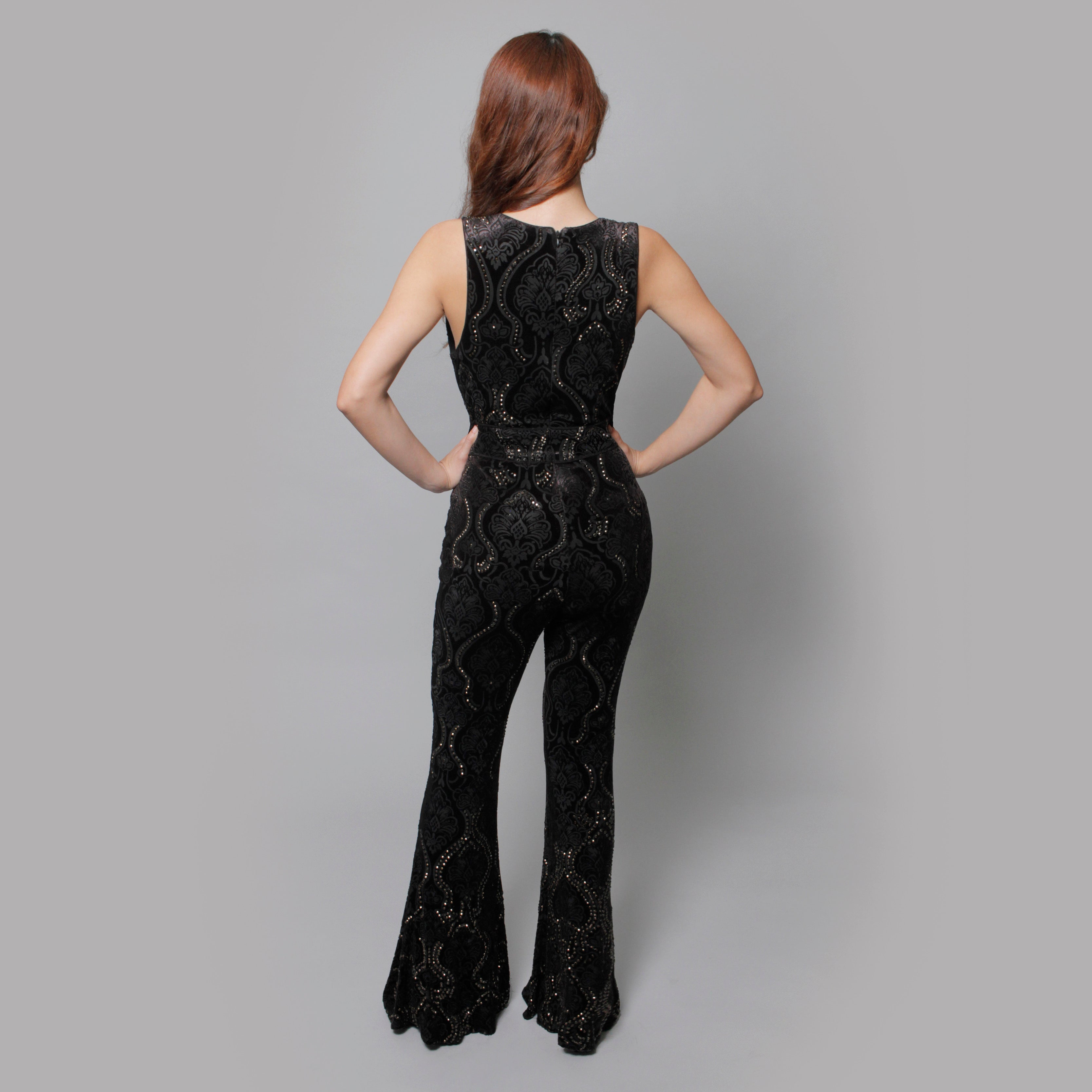 The Lia Jumpsuit - Claudio Milano couture