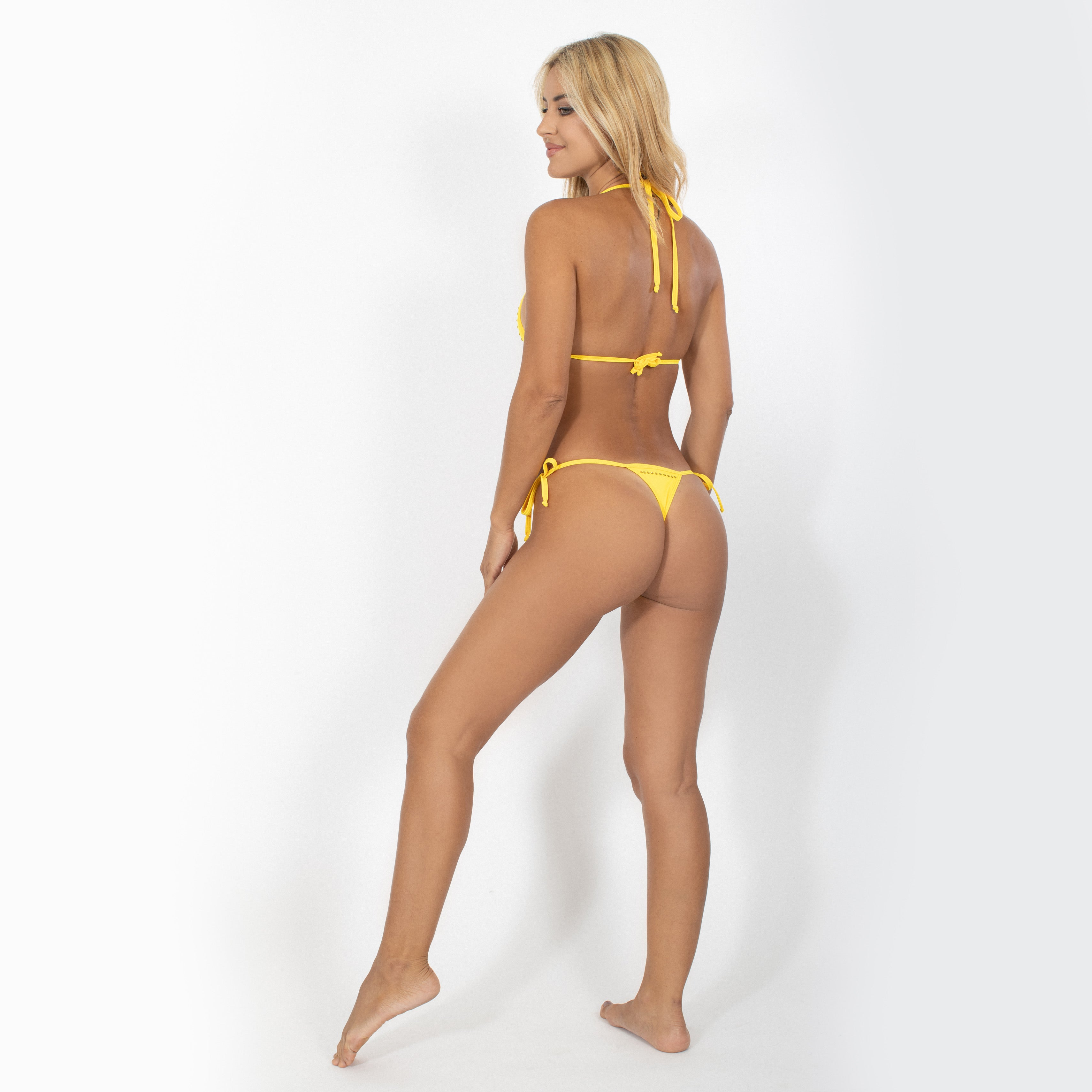 Swimwear Bottom Knotted On The Sides - Claudio Milano Couture