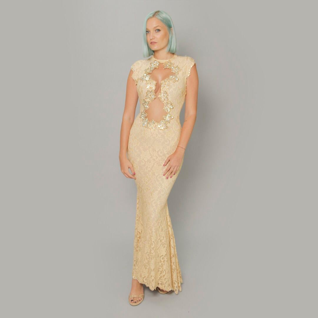 The Nicolina  Dress - Claudio Milano Couture