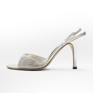 Sling back sandal - Claudio Milano Couture